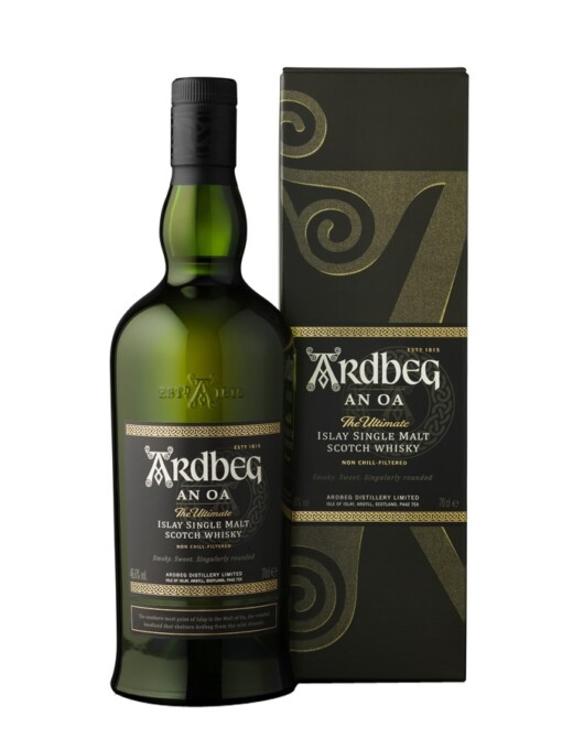 Ardbeg An Oa Front Page