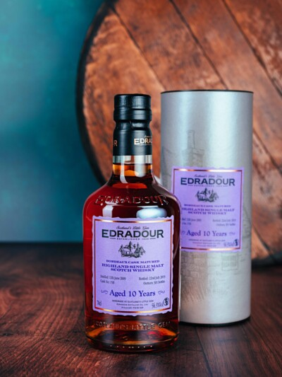 Edradour 10 Year Old Bordeaux Cask Matured 56.5%