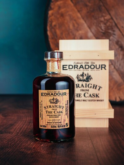 Edradour 10 Year Old Sherry Butt No 407 56.5%