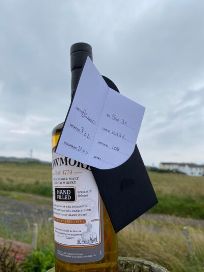 Bowmore Hand Filled Distillery Exclusive Cask #10122