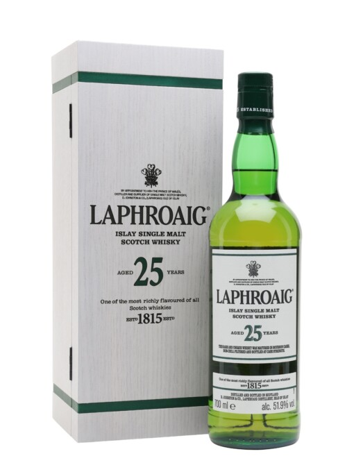 Laphroaig 25 Year Old Cask Strength 2021 Release 51.9%